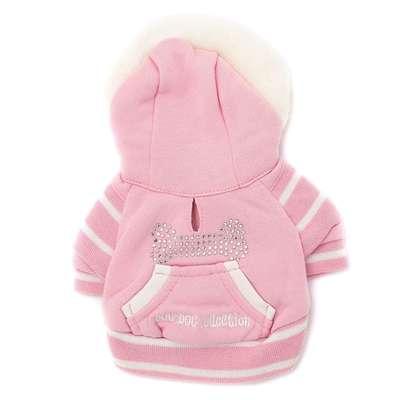 DOG DOG Collection Курточка для маленьких собак, цвет розовый, размер 10