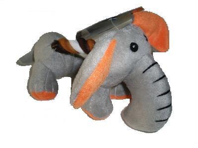 TRIXIE Игрушка для собак Слоненок или Щенок с канатом, плюшевый, 17,0см (фото)