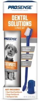 8 in 1 Набор для ухода за зубами для собак Pro-Sense, 3 предмета