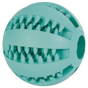 TRIXIE Игрушка для собак Мяч для бейсбола DENTAfun резиновый, d 5см с мятным вкусом