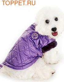 Dobaz Куртка теплая, без капюшона, фиолетовая, размер ХS