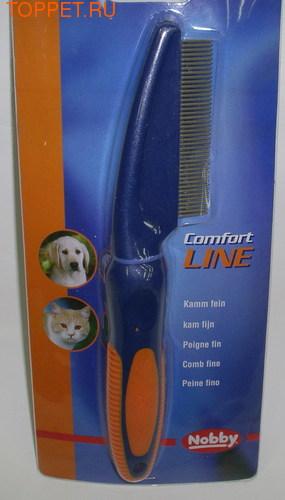 Nobby Расческа для собак и кошек мелкая 41 зубец 20,5см