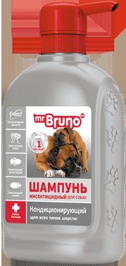 М.Бруно Expert - Шампунь инсектицидный для собак ( от блох, вшей, клещей) 350мл