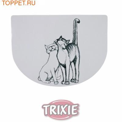 """TRIXIE Коврик под миску """"Кошечка"""""""