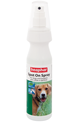 Beaphar Spot On Spray Спрей для собак от блох и клещей 150мл