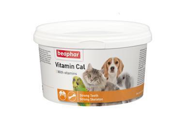 Beaphar VVitamin Cal Витаминная смесь д/укрепления иммунитета у собак, кошек, птиц, грызунов 250г (фото)