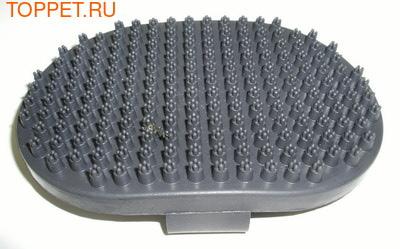 TRIXIE Щетка массажная Люкс 13х9 см, резина
