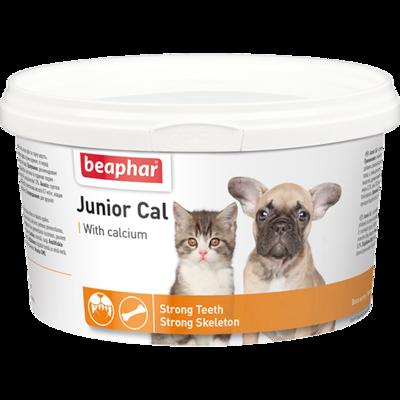 Beaphar JUNIOR CAL Минеральная смесь для щенков, 200 г