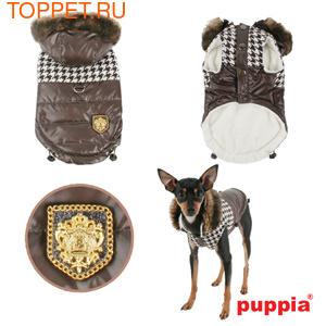 Puppia Двухсторонняя куртка Модель Люксор, цвет коричневый, размер L (фото)