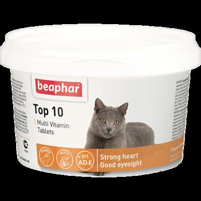 """Beaphar Витамины """"Top 10"""" для кошек (180 шт.)"""