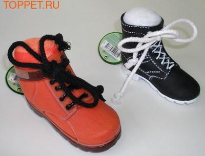 Beeztees Игрушка для собак Ботинок, 13см (фото)