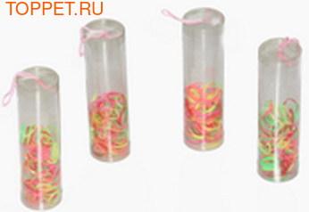 Kylin Fashion Резинки для волос разноцветные XL в тубах, в упаковке 150шт