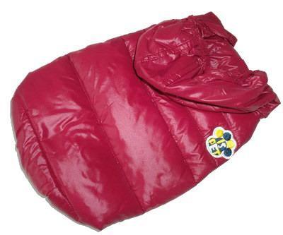 I's Pet Куртка-пуховик теплая, цвет бордовый, размер S (фото)