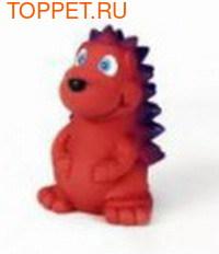 Beeztees Игрушка для собак Ежик красный, латекс