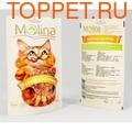 Molina Куриные кусочки для кошек, 80г