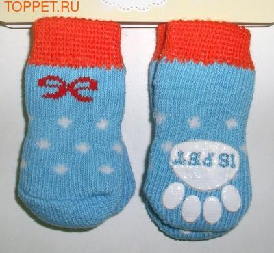 I's Pet Носки для собак голубые, размер S, М
