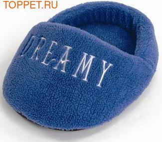 Beeztees Лежак для кошек Dreamy из овчины голубой 50х38см