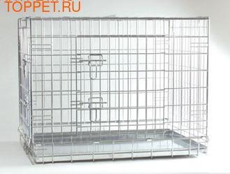 Beeztees Клетка стальная для собак 63*55*61см
