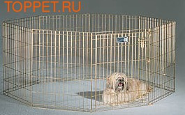 MidWest Вольер для животных позолоченный 61х61см
