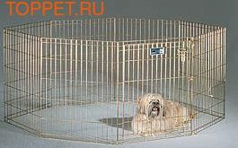 MidWest Вольер для животных позолоченный 61х76см