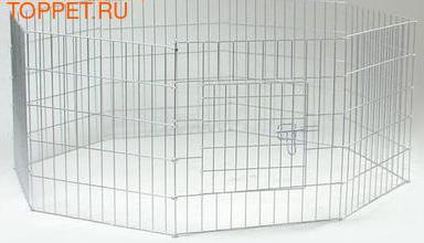 Beeztees Вольер Клетка 8-ми угольная для щенков, размер 60х91см
