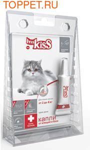 М.Кисс Капли для кошек 2-4кг инсектоакарицидные, 0,5мл