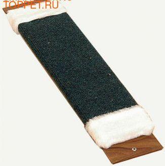 Зверьё Моё Когтеточка М-4 ковровая с мехом с пропиткой большая, 15х60см