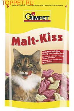Gimpet Malt-Kiss Витамины для кошек для вывода шерсти из желудка 600шт