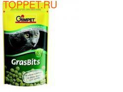 Gimpet GrasBits Витаминизированные таблетки с травой для кошек 40гр