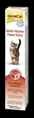 Gimborn GIMCAT Мультивитамин Экстра Паста для кошек (фото)