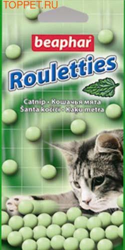 Beaphar Лакомство для кошек шарики с кошачьей мятой 80шт