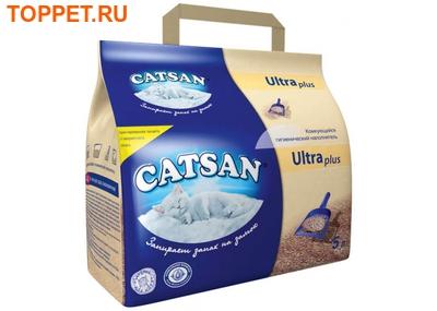 CATSAN Ультра Наполнитель комкующийся 5л, 2,5кг