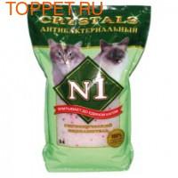 №1 Crystals антибактериальный Наполнитель силикагелевый 5л