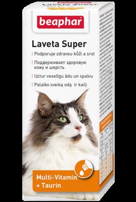 Beaphar Laveta Super Витамины для кошек 50мл