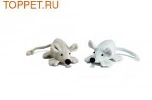 """Beeztees Игрушка для кошек """"Мышь с широкими лапками"""" 6см"""