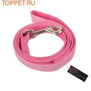 Puppia Поводок розовый, размер M 15ммх120см