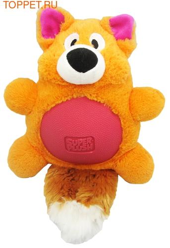 "R2P Игрушка для собак Multi-tex ""Лиса"" 19 см, плюш/резина, с пищалкой"