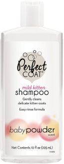 8 in 1 Шампунь для котят PC Tearless Kitten без слез с ароматом детской присыпки, 295 мл