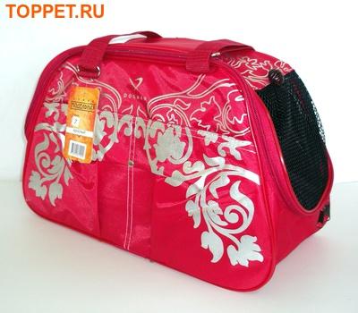 DOGMAN Сумка -переноска для собак №7 красная, размер 40х19х25см. (фото)