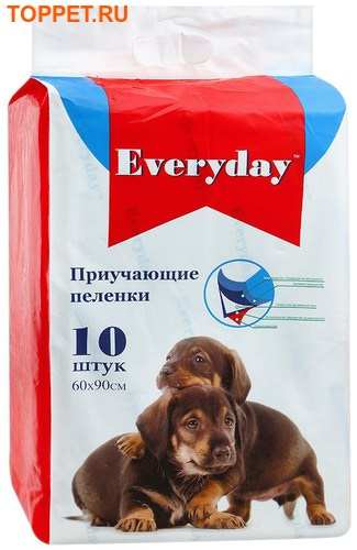 EVERYDAY Впитывающие пеленки для животных ГЕЛЕВЫЕ 60х90см. АКЦИЯ!