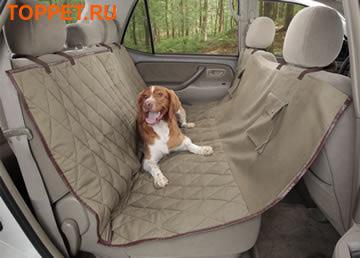 Solvit Покрывало-чехол гамак для собак в машину Deluxe Bench Seat Cover, 142 x 154см (фото)