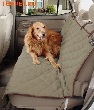 Solvit Чехол в автомобиль для собак Deluxe Bench Seat Cover, 142х119см (фото)