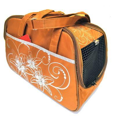 DOGMAN Сумка -переноска для собак №7 кирпичная, размер 40х19х25см. (фото)