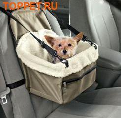 АНТ Автосиденье для мелких собак, 33 см L х 26 см W х 20 см H