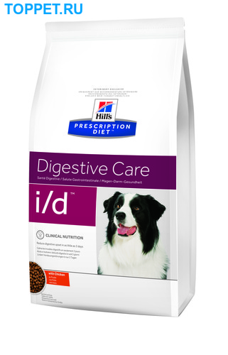 HILL'S Диета для собак I/D лечение ЖКТ сух. (фото)