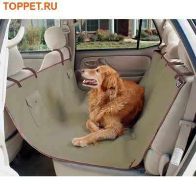 Solvit Водонепроницаемый чехол-гамак для собак Sta-Put™ на заднее сиденье автомобиля, 142х145см (фото)