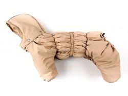 ZooPrestige Комбинезон для собак Дутик, бежевый, размер 2XL, спина 42-46см