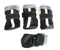 ZooPrestige Сапожки для собак, цвет черный, размер М, XL