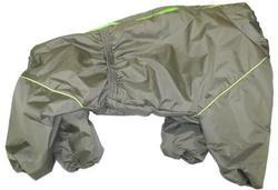 LifeDog Комбинезон для больших пород собак, олива, размер 4XL, спина 55см