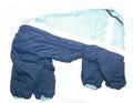ZooPrestige Комбинезон утепленный, размер 3XL, спина 42см, синтепон, светоотражающие полосы, голубой/синий